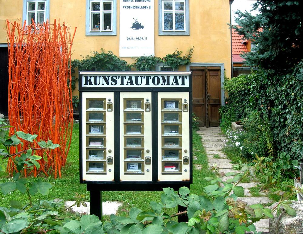 Huber & Treff - Kunstautomat 2011.08.31