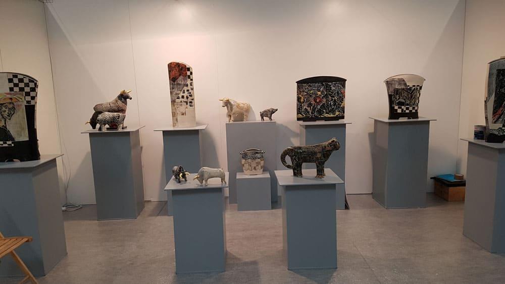 Annette Wandrer - Arbeiten, Präsentation Arthür 2018 Erfurt