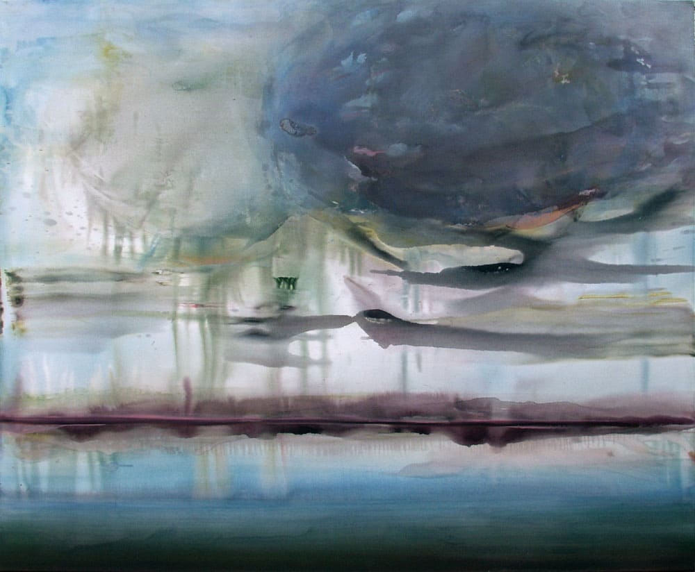 Kerstin Alexander - Vermutung 2016 Öl und Acryl auf Leinwand 190x230cm